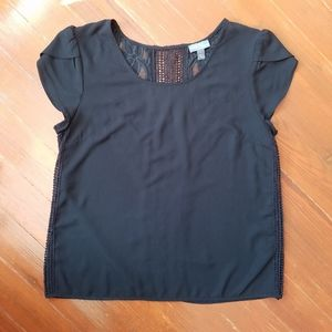 Market & Spruce Stitch Fix black lace back top